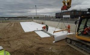 Inter Terminals Civil Design for new tank bunds