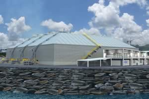 Petredec LPG Mounded Storage Terminal
