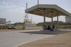 Qatar Petroleum Diesel Filling Station